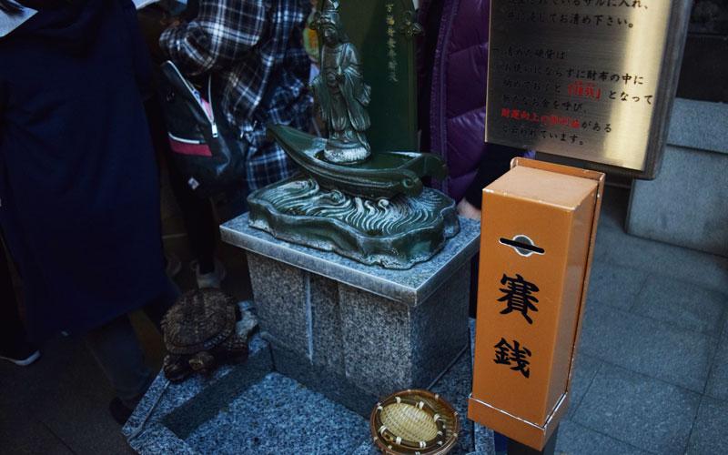 小網神社 銭洗い