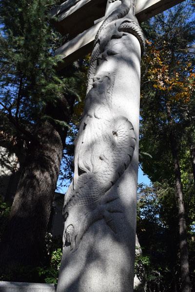 馬橋稲荷神社の昇竜