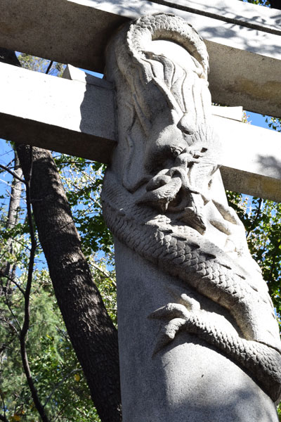 馬橋稲荷神社の降龍