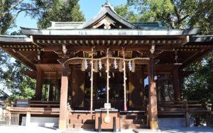馬橋稲荷神社の境内