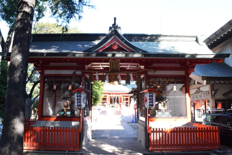 馬橋稲荷神社の隋神門