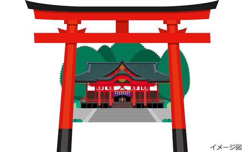 神社イメージ図
