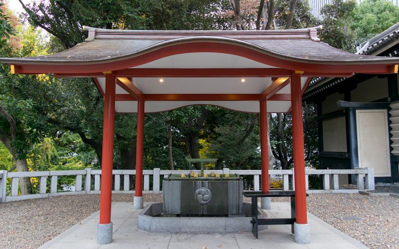日枝神社の手水舎