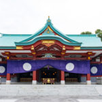 日枝神社の拝殿