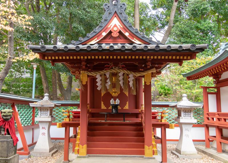 日枝神社の山王稲荷神社