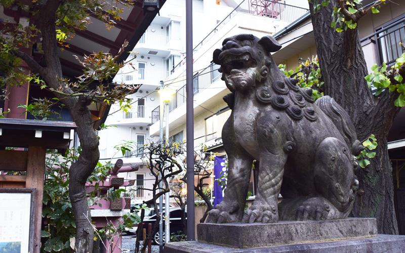 平河天満宮の狛犬2