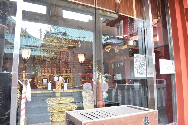 江戸神社の千貫神輿