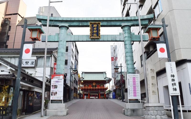 神田神社の鳥居