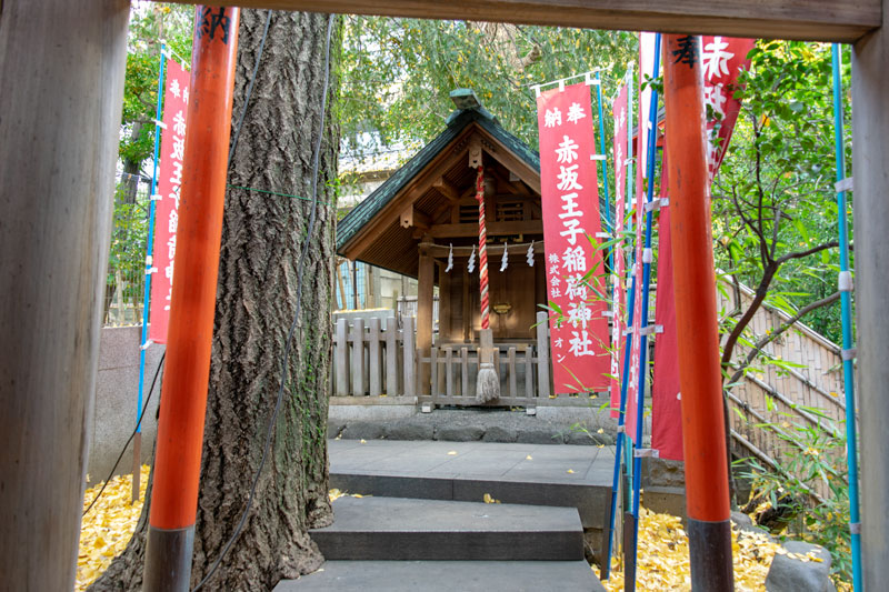 赤坂王子稲荷神社社殿