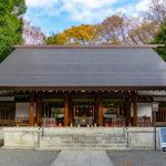 乃木神社の拝殿
