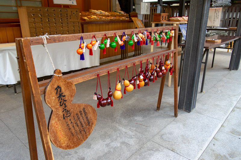 乃木神社の乃木ひょうたん