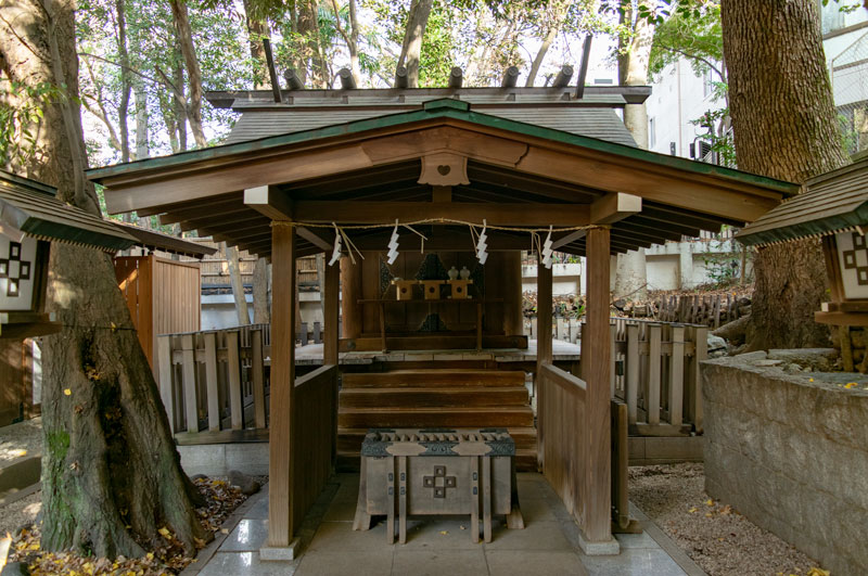 正松神社社殿