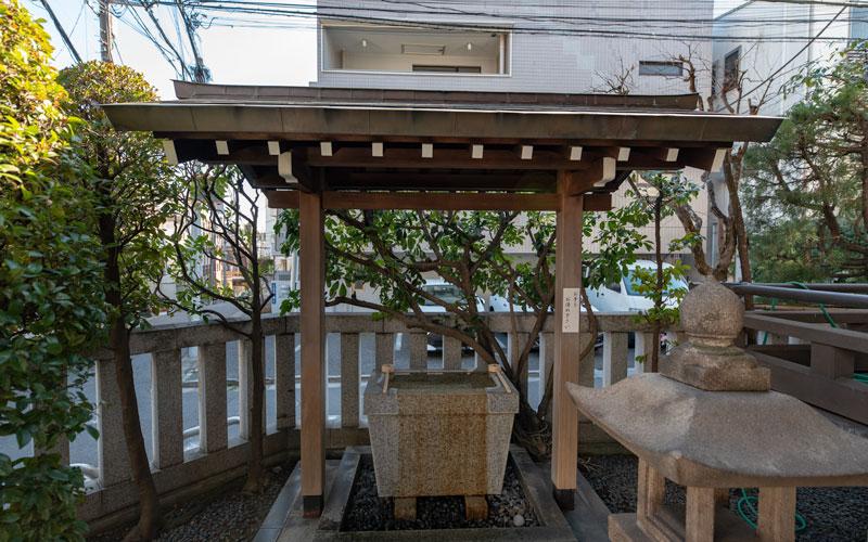 平田神社の手水舎