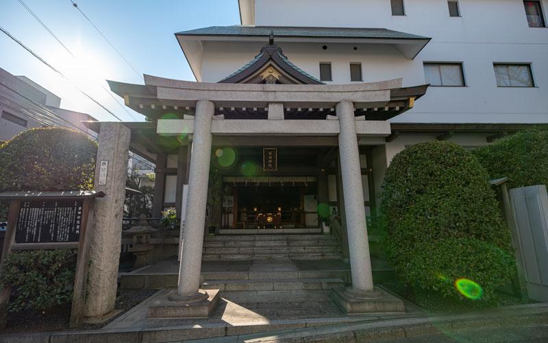 平田神社の鳥居