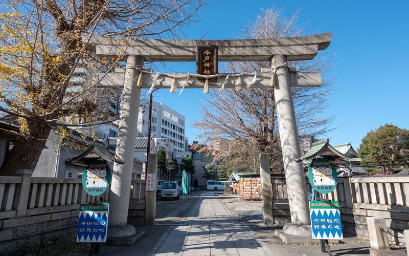 今戸神社の鳥居
