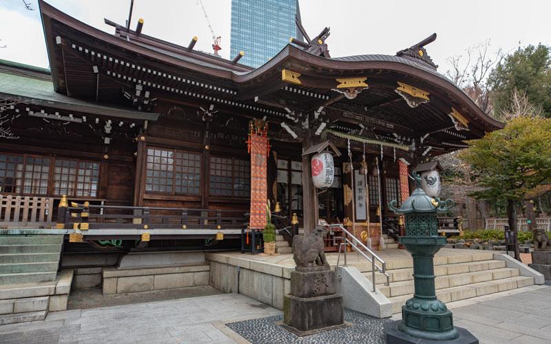 十二社熊野神社の社殿
