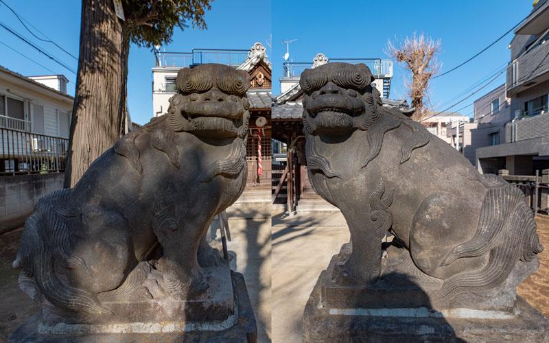 北野神社西町天神の狛犬