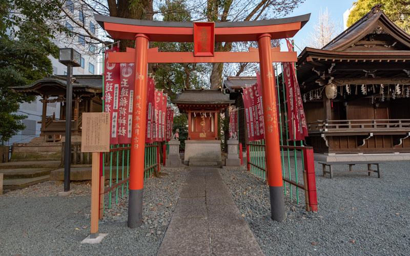 金王八幡宮の玉造稲荷神社