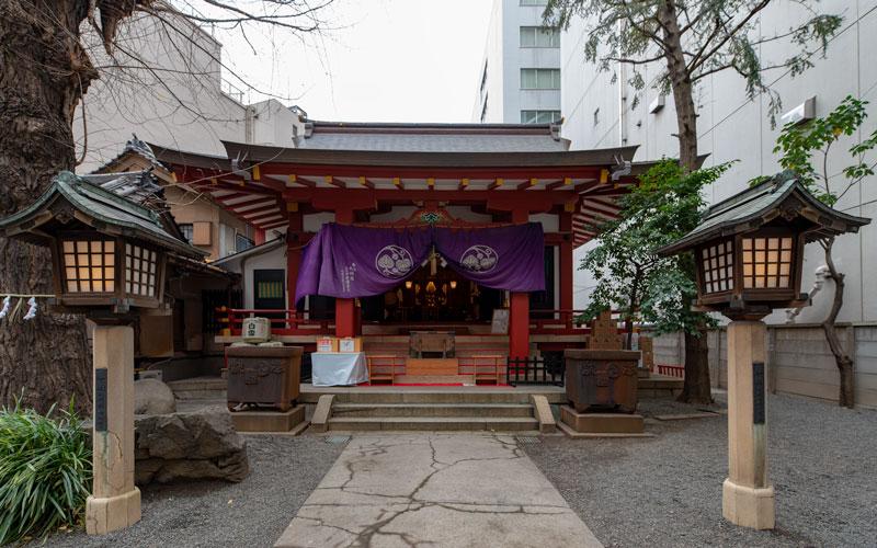 日本橋日枝神社:山王御旅所