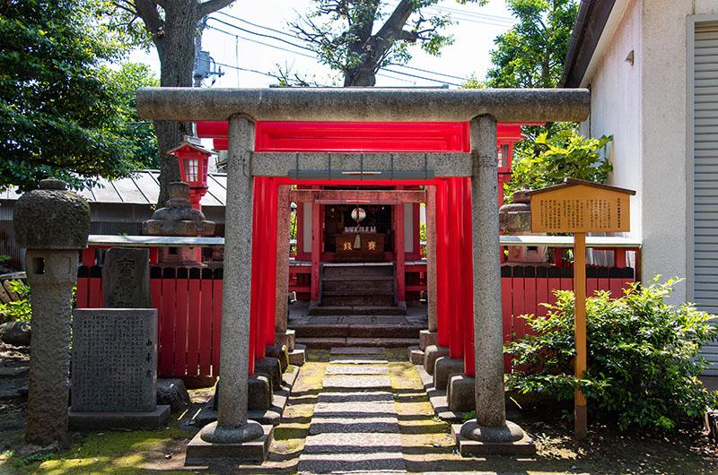新井天神北野神社 稲荷神社