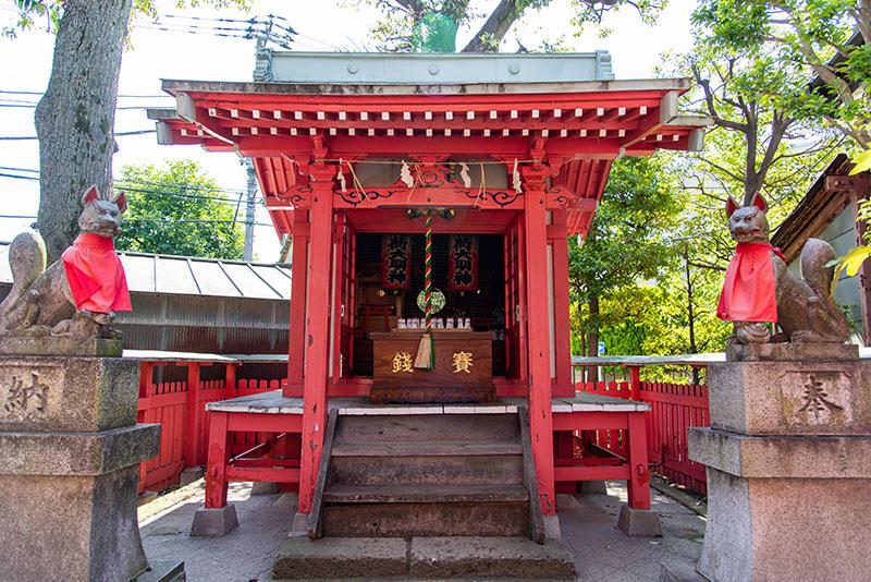 新井天神北野神社 稲荷神社本殿