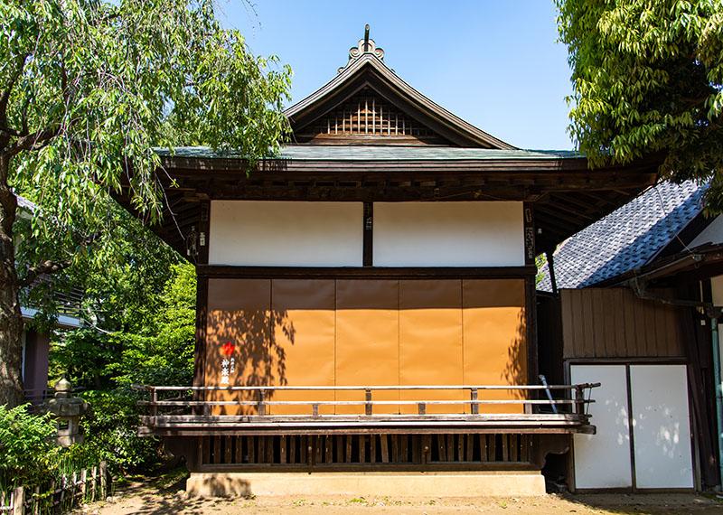 新井天神北野神社の神楽殿