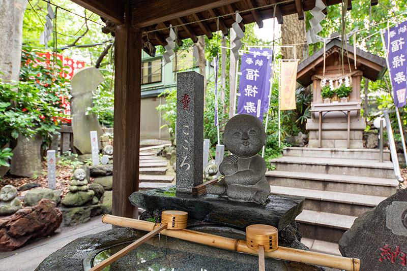 江東天祖神社の手水舎2