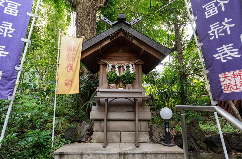 江東天祖神社の福禄寿