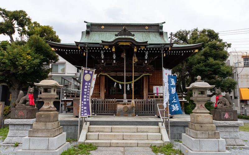 三輪里稲荷神社