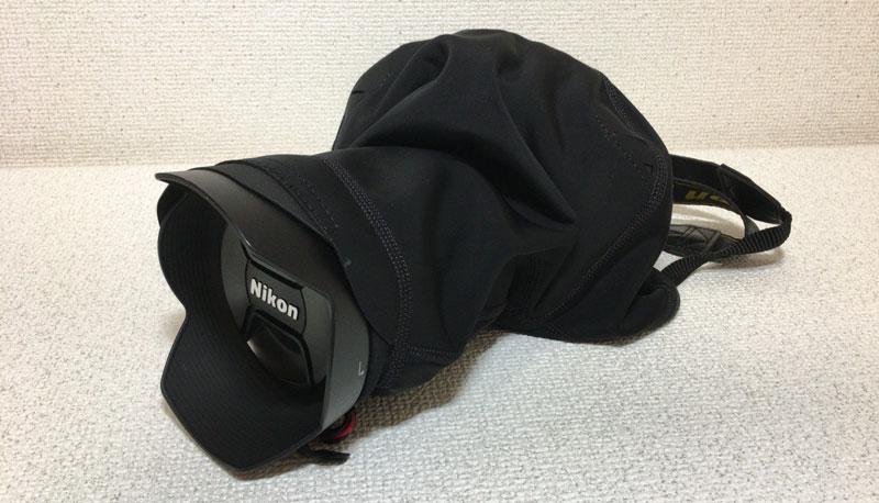ピークデザイン/shell D810フード付き