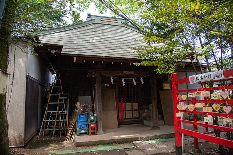六所神社の旧社