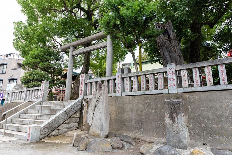 吾妻神社石碑2