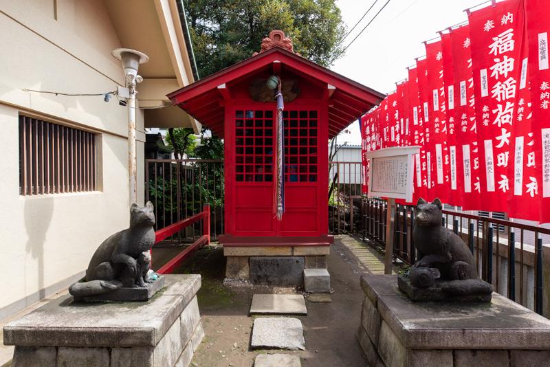 吾嬬神社 福神稲荷神社