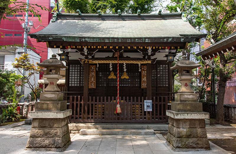 恵比寿神社 拝殿