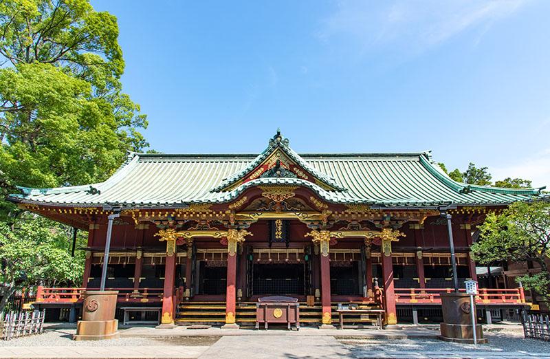 根津神社 拝殿
