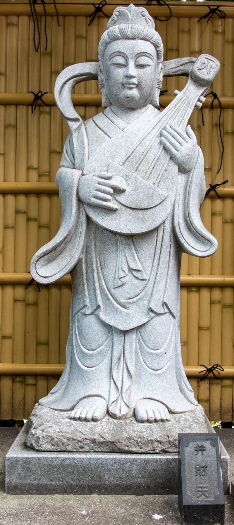 沼袋氷川神社 弁財天