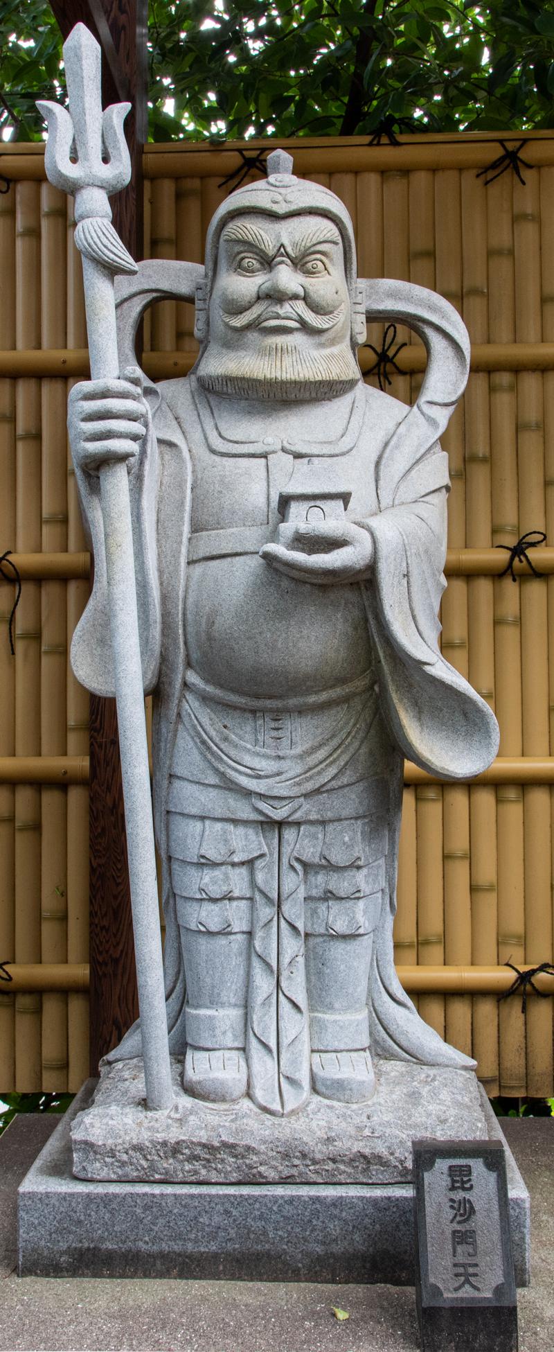 沼袋氷川神社 毘沙門天