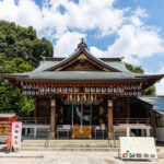 沼袋氷川神社拝殿