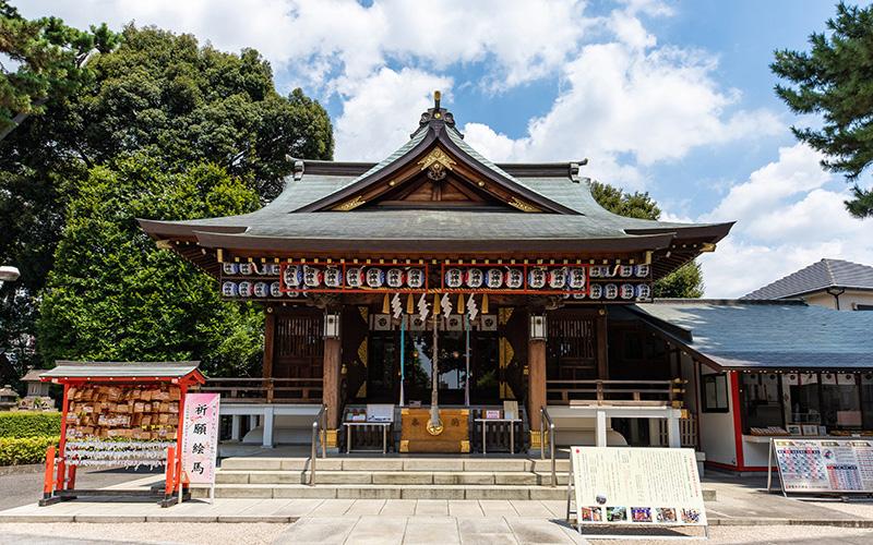 沼袋氷川神社拝殿カテゴリー