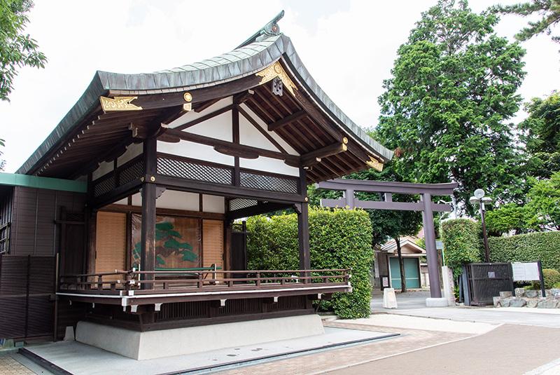 沼袋氷川神社 神楽殿