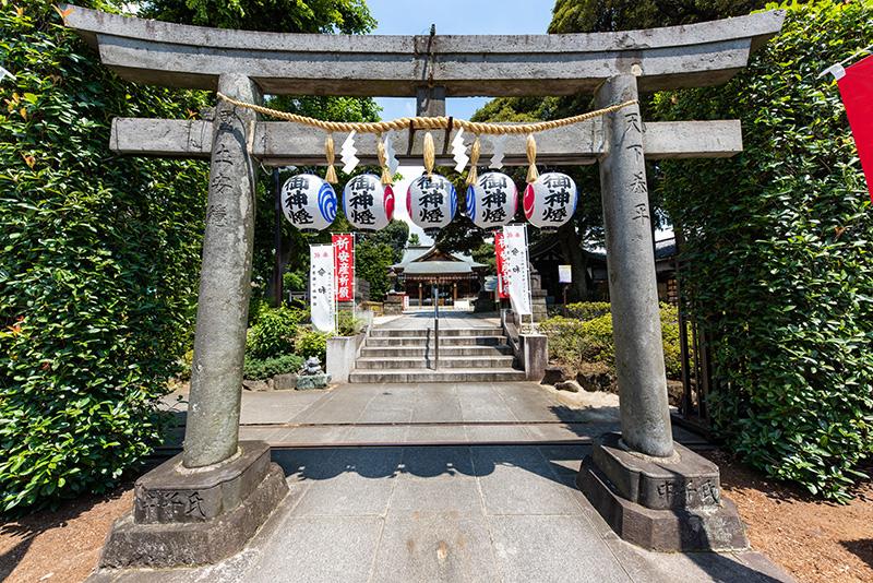 沼袋氷川神社 鳥居2
