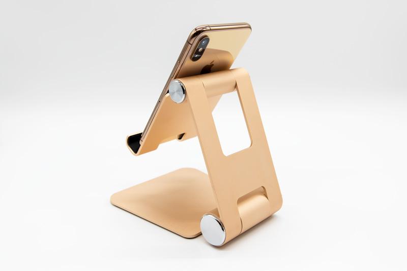 satechi R1 モバイルスタンド iPhoneXs ゴールド