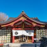 素盞雄神社 拝殿