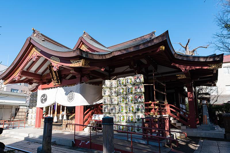 素盞雄神社 拝殿2