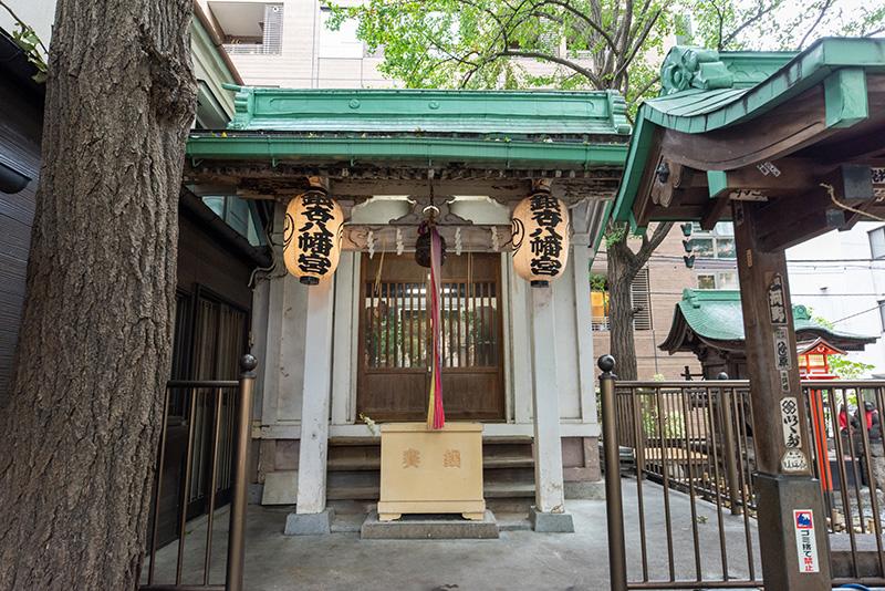 銀杏八幡宮 拝殿