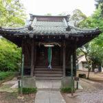 東小岩天祖神社 拝殿