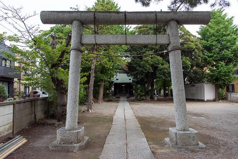 東小岩天祖神社 鳥居