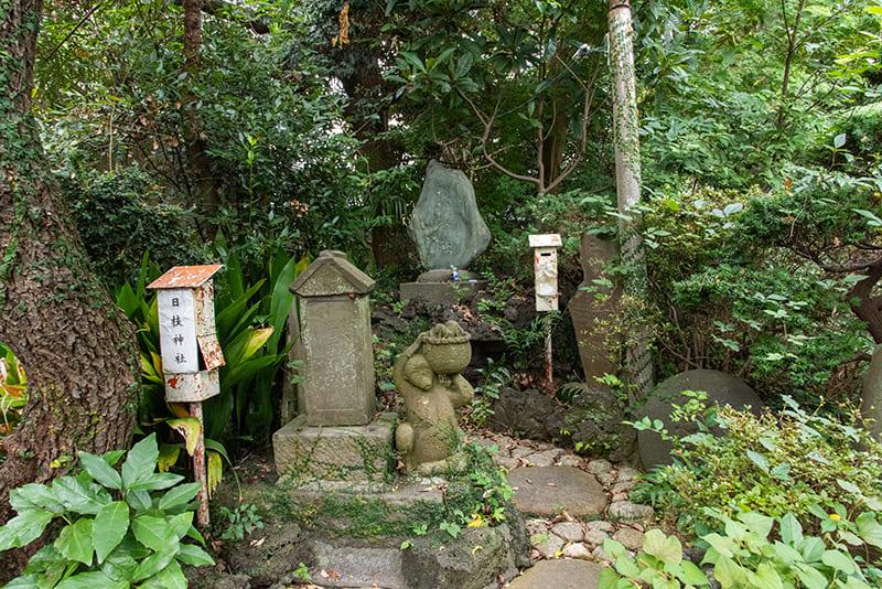 小岩神社 日枝神社 浅間神社