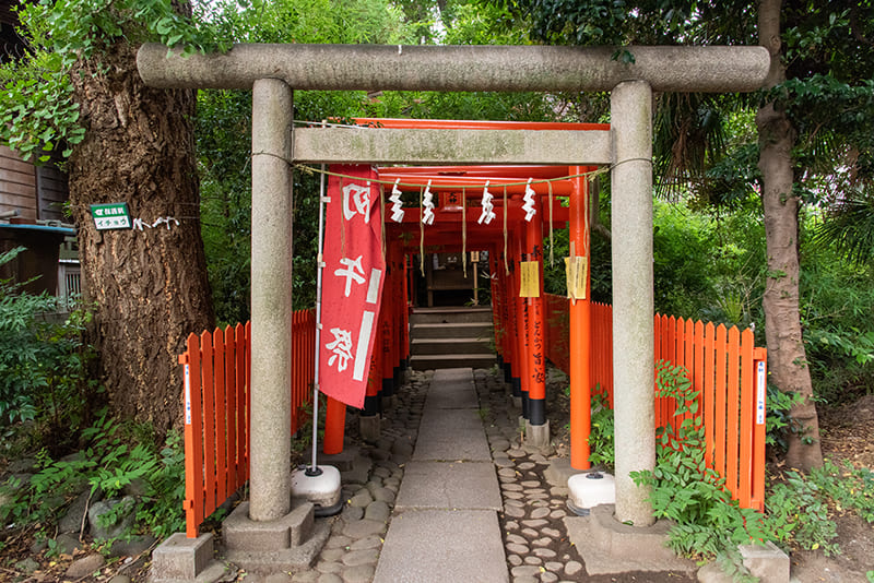 小岩神社 稲荷神社鳥居