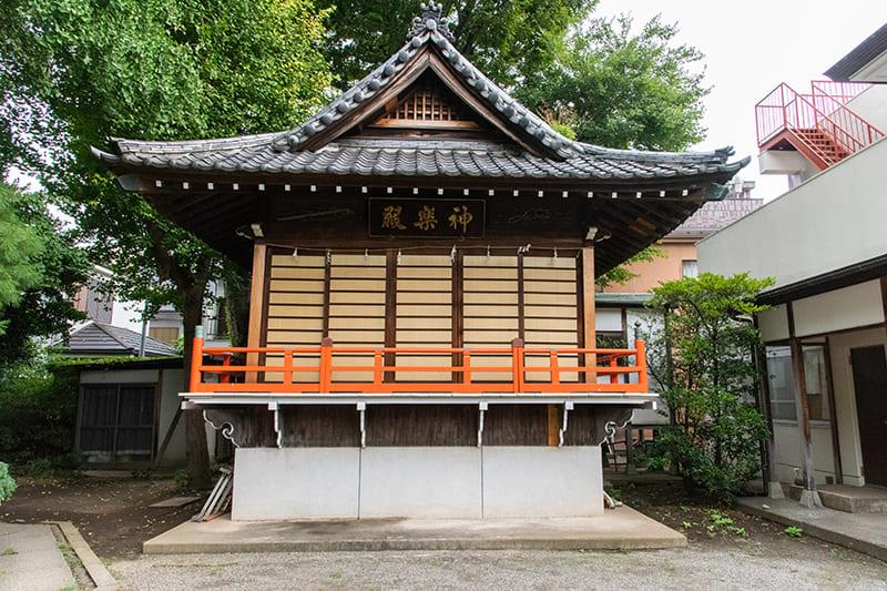 小岩神社 神楽殿